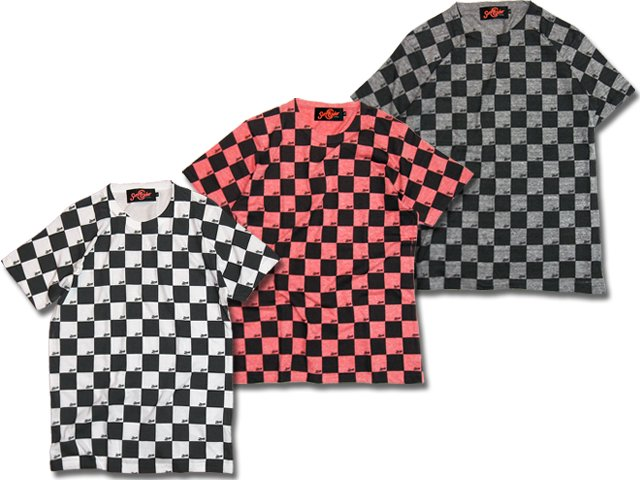 17SCS-SS-CHECKER TEE