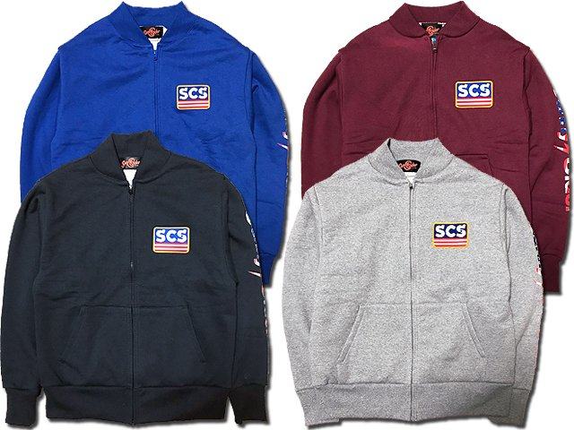 17SCS-AW-BOX ZIP SWEAT