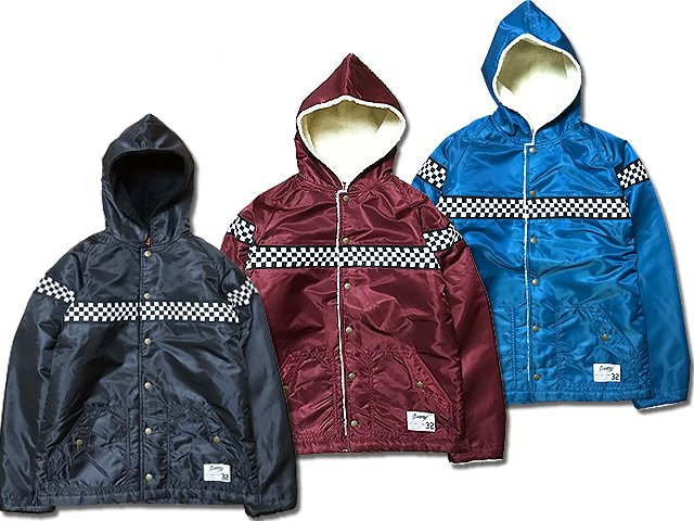 17SCS-AW-CHECKER NYLON JKT