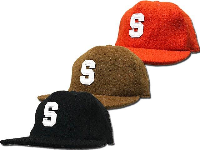 17SCS-AW-FLOCKY FELT CAP