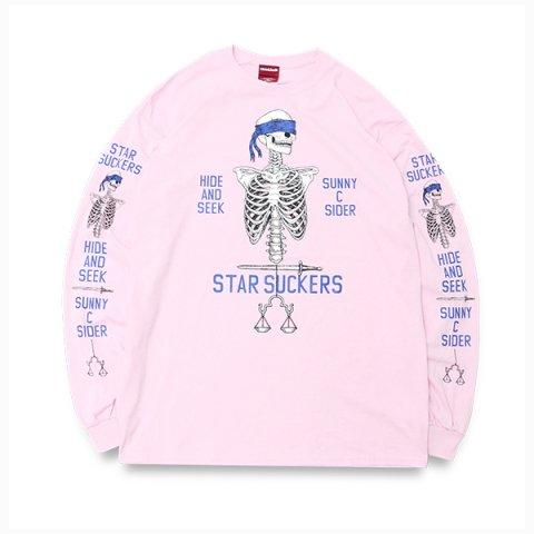 SUNNY C SIDER × HIDEANDSEEK L/S Tee