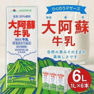 大阿蘇牛乳 1L×6本 合計6L