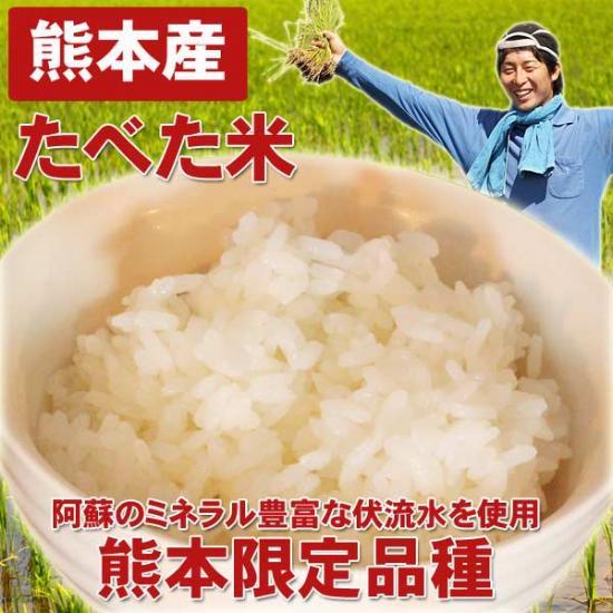 【お試し価格】熊本産たべた米3キロ