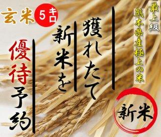 30年度熊本産新米ヒノヒカリ予約5キロ(玄米)|平成産最後の新米です!