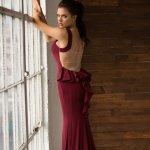 お取り寄せ SizeM〜2L相当 3色展開 ステージドレス インポートドレス コンサートドレス 演奏会ドレス ac364