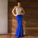 お取り寄せ SizeM〜2L相当 3色展開 ステージドレス インポートドレス コンサートドレス 演奏会ドレス ac759