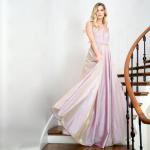 お取り寄せ SizeM〜3L相当 2色展開 演奏会ロングドレス ステージドレス 大きいサイズドレス 演奏会ドレス acR014