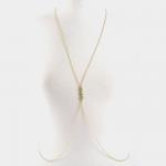 ロゴ入りクリスタルボディチェーン LABIJAX-A01507790366