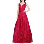 お取り寄せドレス 4色展開 SizeS〜L相当 演奏会ロングドレス ステージドレス 大きいサイズドレス 演奏会ドレス LASP1876