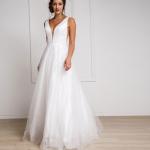 お取り寄せ SizeM〜2L相当 3色展開 サイズ多様 演奏会ロングドレス ステージドレス ピアノドレス acR010-W