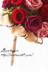 福岡Yさまオーダーウエディングセット/ウェディング/ブーケ/結婚祝い/ラウンドブーケ/デザインブーケ/プリザーブドフラワー/ブライダル/発表会/誕生日