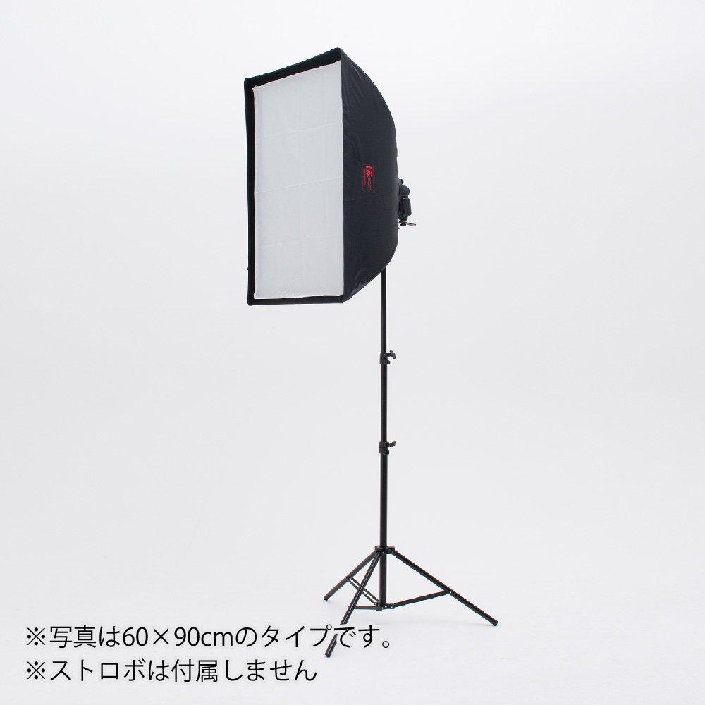 スピードライト用ソフトボックス スタンドセット(別売グリッド有り)