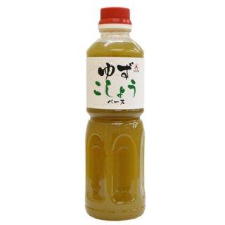 ゆずこしょうベース 500ml業務用ボトル/ 柚子胡椒をソースタイプに