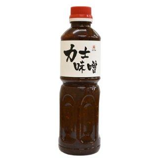 力士味噌 500ml業務用ボトル/ 焼き野菜、厚揚げ、うどん、肉・魚に うま辛みそだれ