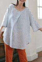 1年ずっと手ぬい服・材料キット12 ビッグチュニック 【スプリングフェア】15%OFF SALE