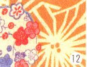 もめんちりめん36cm幅 (花かんざし)3m巻
