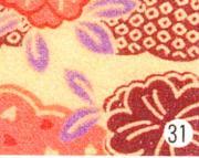 もめんちりめん36cm幅 (桃山)紫 3m巻