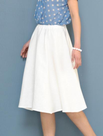 一枚裁ちでつくる かんたん手ぬいの大人服・材料キット11 フレアースカート