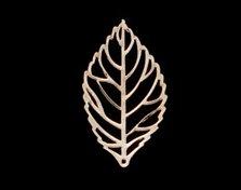 AEP101−24 <br />アレンジパーツ リーフ中 <br />ゴールド (10枚入り)【ネコポス可】