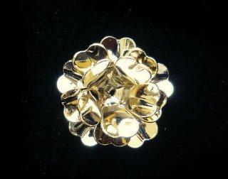 AEP101−55A<br />アレンジパーツ スターフラワー<br /> ゴールド (3枚入り)【ネコポス可】