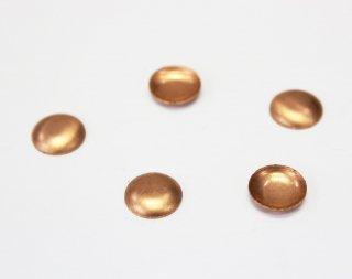 銅板 10mm 丸 (5ヶ入)【ネコポス可】