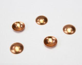 銅板 12mm 丸 (5ヶ入)【ネコポス可】