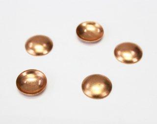 銅板 15mm 丸 (5ヶ入)【ネコポス可】