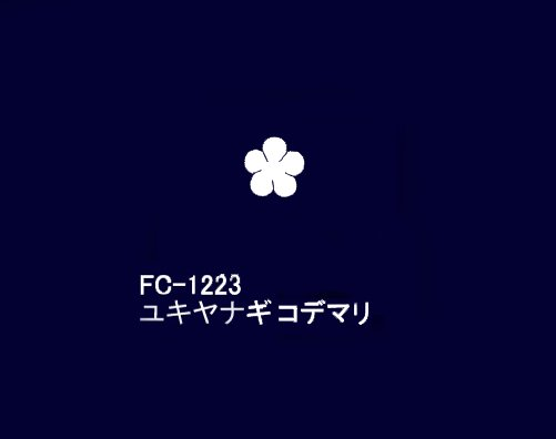 FC−1223ユキヤナギコデマリ 特上サテン 固糊