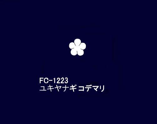FC−1223ユキヤナギコデマリ うす絹 固糊