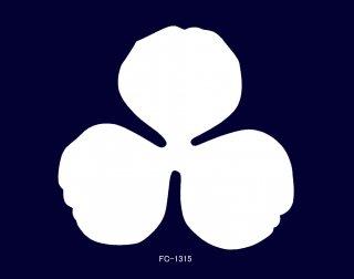 SA−1315<br />バラ花弁 ゴールドサテン 固糊【ネコポス可】