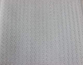 ラメ入ハードチュール 白/シルバー