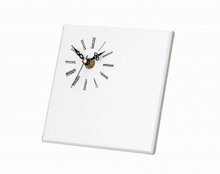 ミレニアムアート<br>ML589−01<br />NEWプリフラットフレーム(時計付)スクエア ホワイト