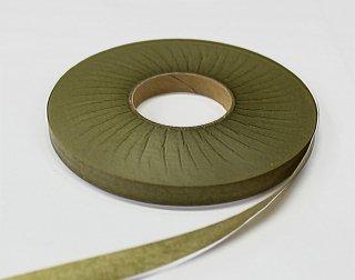 紙テープ9mm幅 オリーブグリーン【ネコポス可】