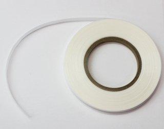 うす絹テープ 白<br/>5mm×46m 【ネコポス可】
