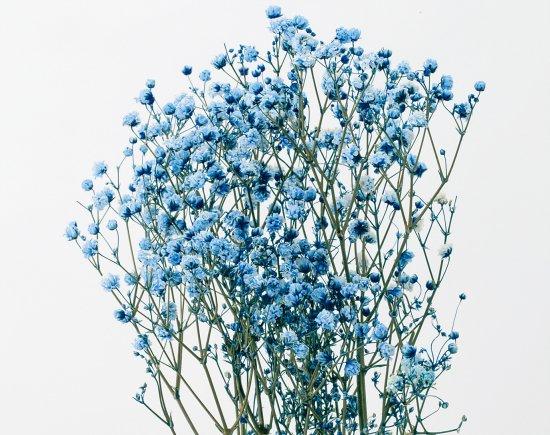 アンティークプリザ・カスミ草ブルー