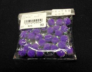 ラメぼん天  8mm No32(紫)<br/>ボン天、凡天