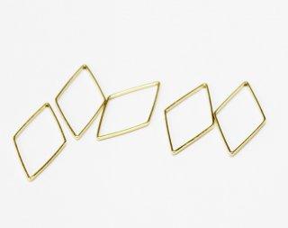 K09—12—004<br/>フレームパーツ ダイヤ ゴールド【ネコポス可】