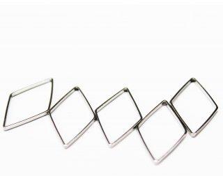 K09—12—004<br/>フレームパーツ ダイヤ シルバー【ネコポス可】