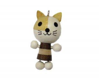 ウッドアニマル<br/>PWP-3 ネコ