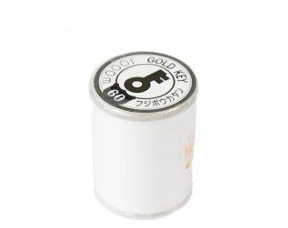 フジボウ/家庭用糸<br/>キンカギカタン糸60番/1000m巻<br/>白色