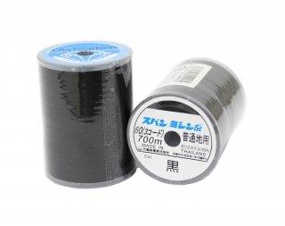ダイヤフェザー<br/>スパンミシン糸 60/700m<br/>黒