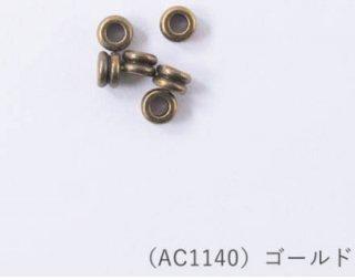 AC1140<br/>ブラスビーズ<br/>4×6mm【ネコポス可】