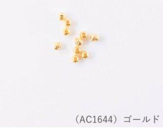 AC1644<br/>メタルビーズ<br>ライン小 ゴールド【ネコポス可】