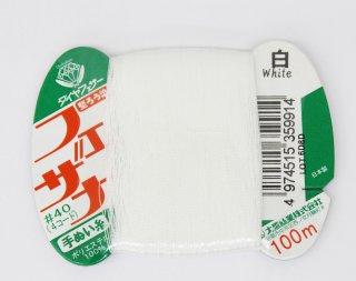 フェザナ手縫い糸カード<br/>白【ネコポス可】