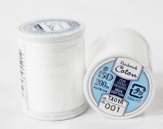 Patchwork Cotton(パッチワークコットン)<br/>001(白)