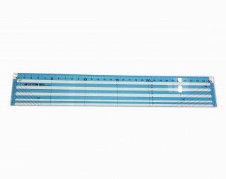 430954<br/>カラーワイドスケール30cm<br/>ブルー