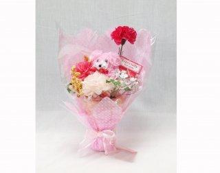 プードル花束M <br>ピンク