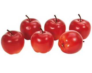 ブライトアップルM <br>レッド <br>1袋(6個)
