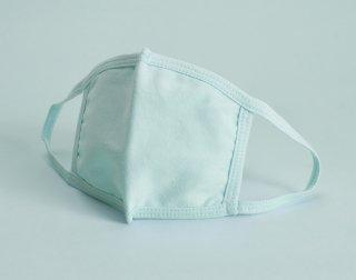 子供用 洗える布マスク<br>サックス