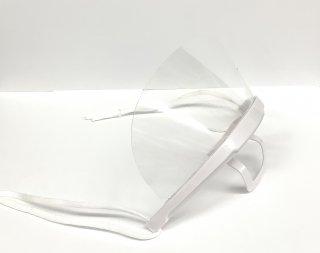 プラスチック マウスシールド 白フレーム(ソフトタイプ)